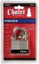 "Chalet by Chateau 1-3/4"" (45mm) Laminated Padlock"