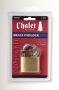 "Chateau Chalet 1-7/8"" (48mm) Brass Padlock"