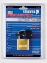 "Chateau Industry 1-1/2"" (40mm) Brass Padlock"