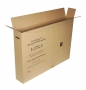 "Medium Flat Screen TV Moving Box  - Up To 46"" Double Wall"